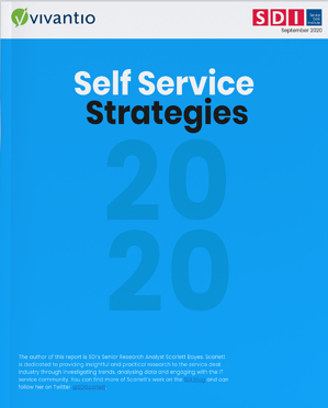 Self Service Strategies Cover